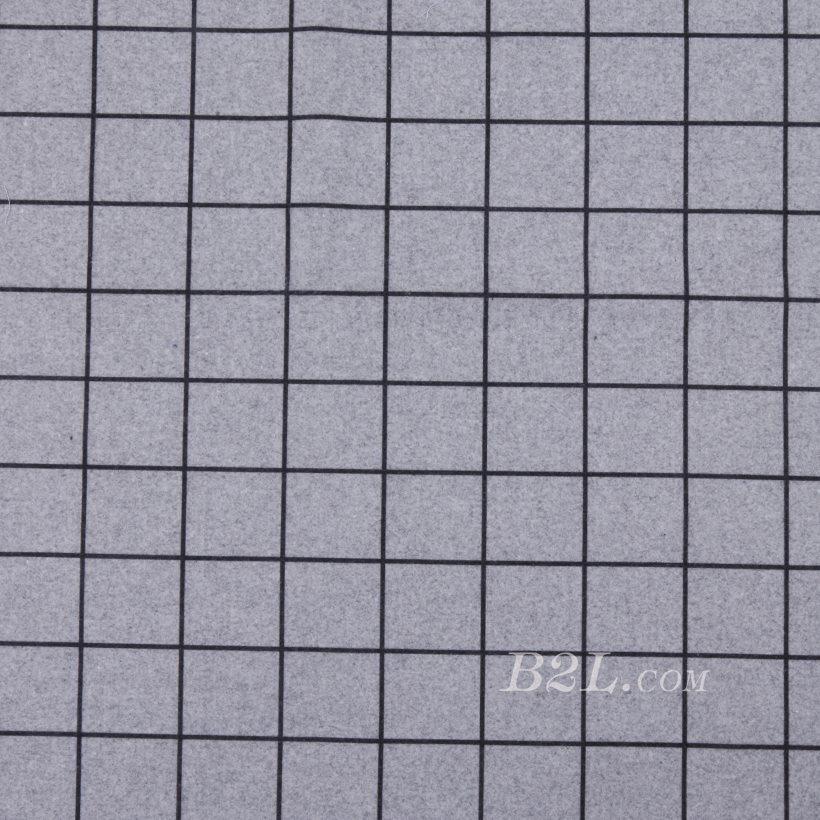 毛纺 梭织 格子 无弹 女装 外套 大衣 秋冬 71125-50
