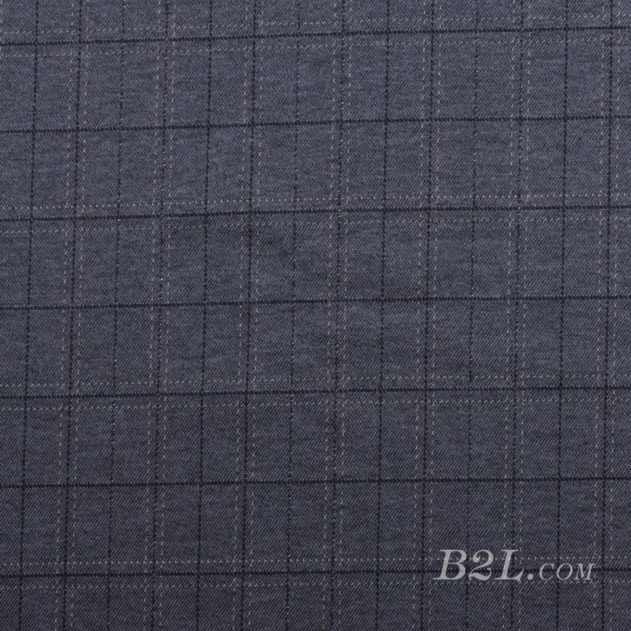 针织染色格子面料-春秋冬连衣裙半身裙外套面料Z930