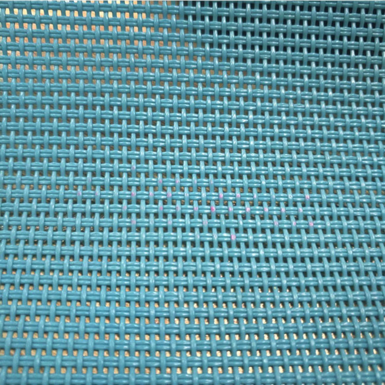 厂家定制防滑布PVC方格网眼布