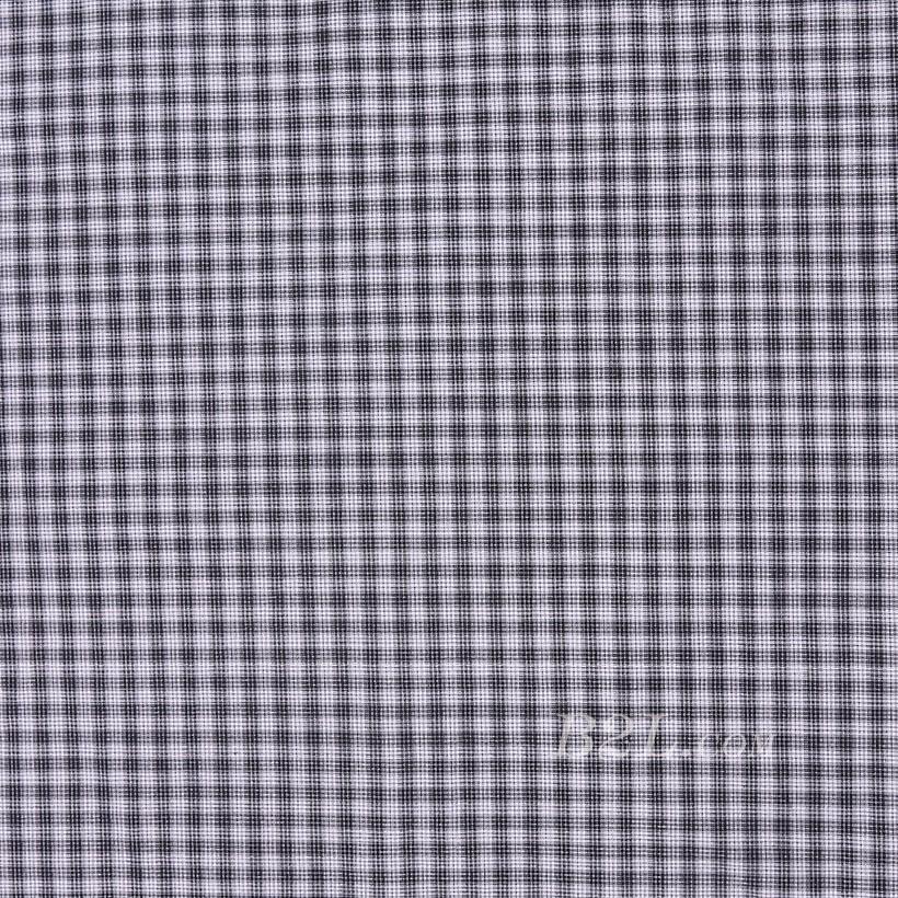 格子 棉感 色织 平纹 外套 衬衫 上衣 70622-117