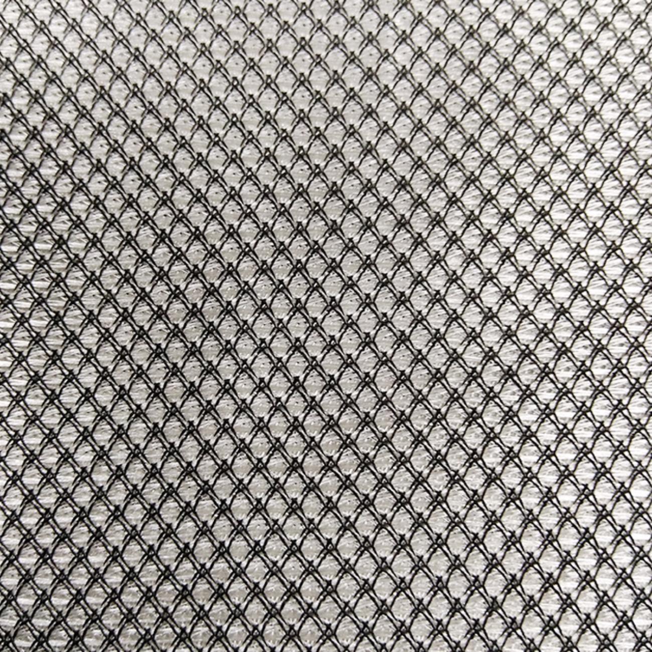 厂家直销亮光方格网布面料