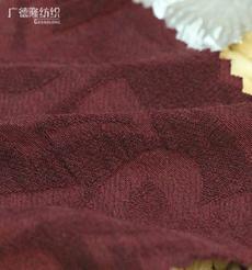广德隆MAB127 麻棉涤混纺心形提花面料 时尚家庭装饰桌布台布套罩箱包手袋 潮流礼服外套上衣衬衫大衣裤子裙子帽子鞋子