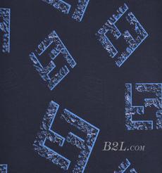 印花 梭织 染色 低弹 字母 春秋 连衣裙 时装 外套  90308-18
