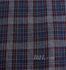 梭织 格子 全棉 色织 低弹 衬衫 短裙 期货 60620-2