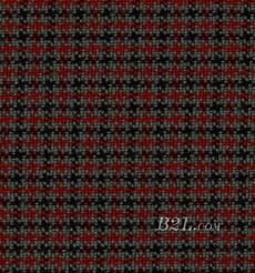 格子 微弹 色织 梭织 春秋 西装 外套 半裙 女装 80623-31