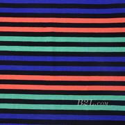 条子 横条 圆机 针织 纬编 T恤 针织衫 连衣裙 棉感 弹力 定位 60312-101
