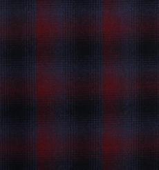 毛纺 格子 羊毛 染色 薄 精仿 西装 职业装 春秋 女装 71122-41