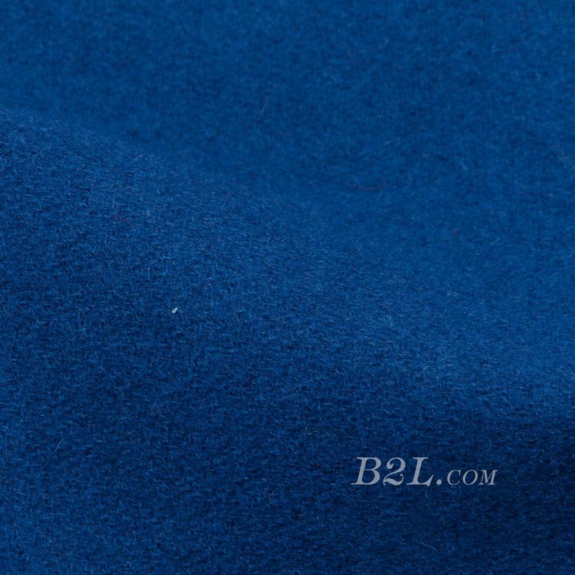 素色 梭织 毛呢 柔软 羊毛 大衣 低弹 外套 秋冬 女装 80311-9