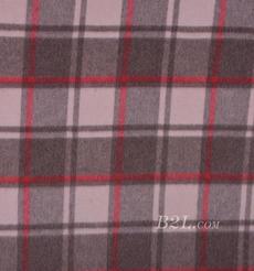毛紡 梭織 羊毛 格子 絨感  雙面尼 厚 大衣 秋冬 女裝 80322-13