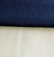 35%棉17%莫代爾46%聚脂纖維2%氨綸梭織彈力透明印花布