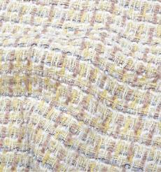 毛纺 梭织 染色 小香风 条纹 秋冬 大衣 时装 91017-22