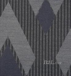 几何 提花 色织 女装 外套 大衣 春秋 60409-35