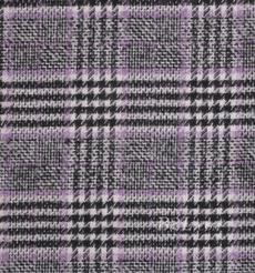 毛纺 格子 羊毛 粗纺 色织 低弹 秋冬 外套 女装 81028-17