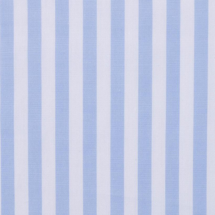 现货 全棉 条子 梭织 低弹 柔软 细腻 棉感 衬衫 连衣裙 男装 女装 春夏秋 71028-27