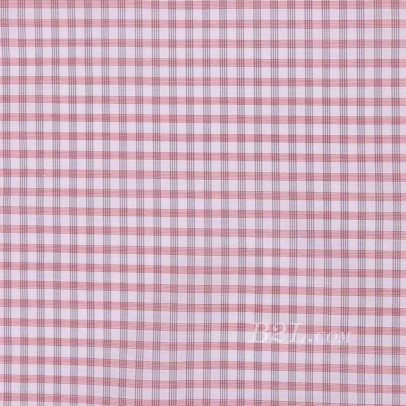 格子 棉感 色织 平纹 外套 衬衫 上衣 70622-49