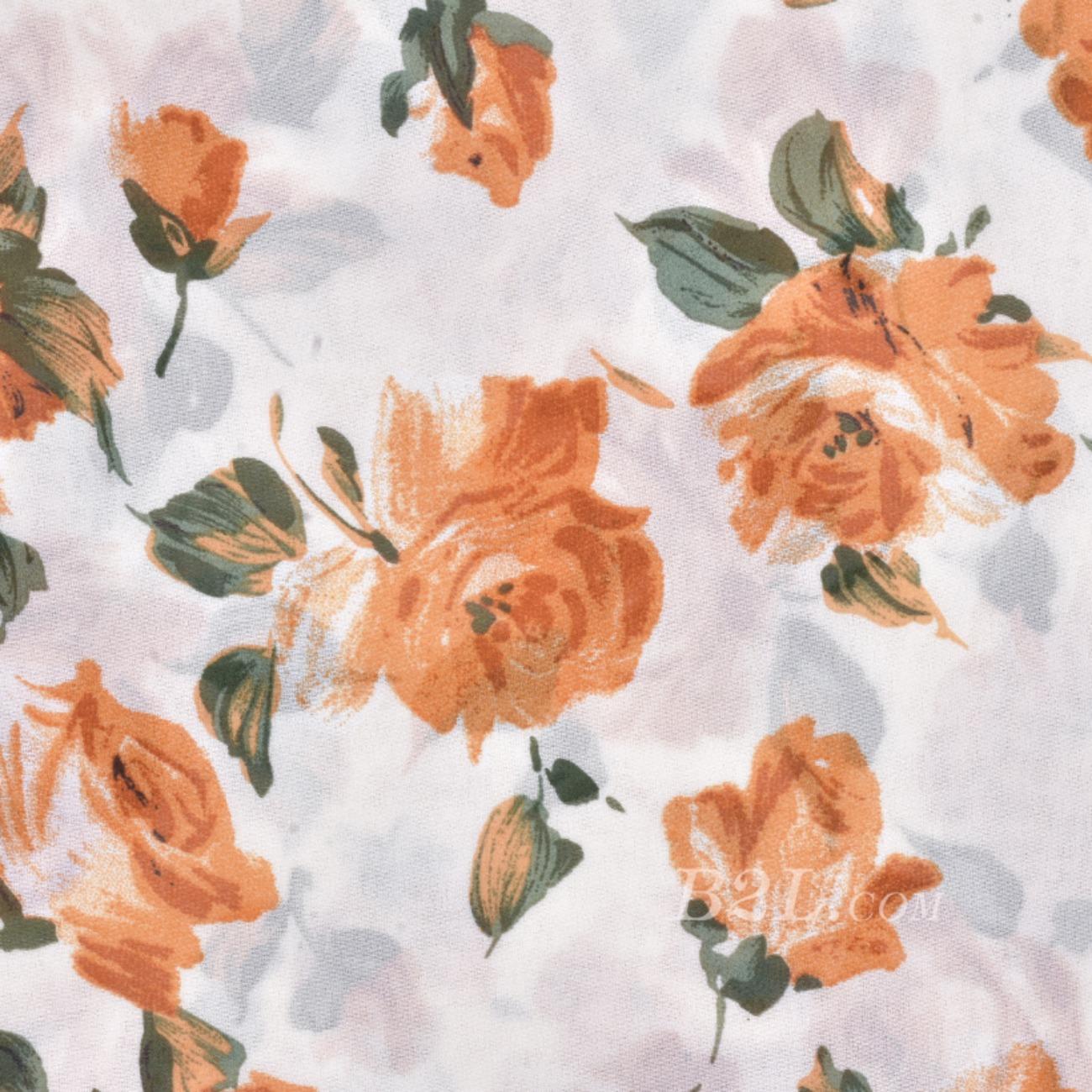 印花 梭织 染色 花朵 春夏 连衣裙 衬衫 S372