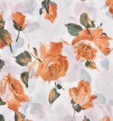 印花 梭織 染色 花朵 春夏 連衣裙 襯衫 S372