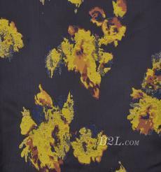 提花 梭織 色織 花朵 金線 無彈 春夏秋 禮服 連衣裙 外套 女裝 80408-11