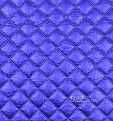 提花 梭織 染色 低彈 菱形格 春秋冬 時裝 棉衣 90309-20