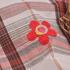花朵 格子 色织 梭织 绣花 微弹 连衣裙 衬衫 女装 童装 春秋 71227-41