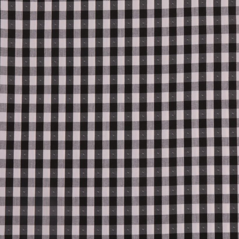 期货 格子 喷气 色织 低弹 衬衫 连衣裙 棉感 女装 春夏  61219-13