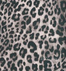 印花 针织 豹点 低弹 春秋 柔软 连衣裙 短裙 T恤 女装 81019-33