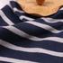 条子 横条 圆机 针织 纬编 T恤 针织衫 连衣裙 棉感 弹力 60312-95