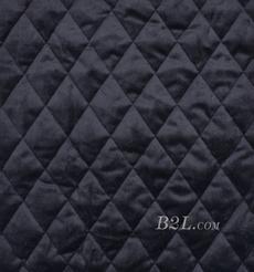 提花 梭織 染色 低彈 菱形格 春秋冬 時裝 棉衣 90309-10