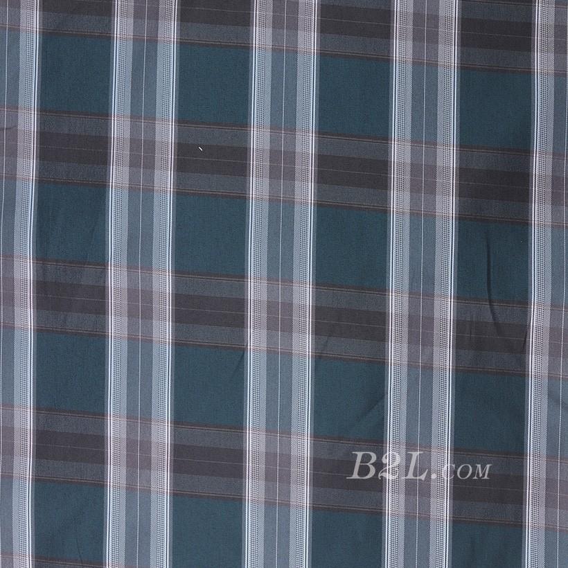 格子 棉感 色织 平纹 连衣裙 上衣 70622-122