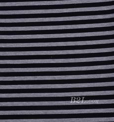 条纹 棉感 提花 平纹 连衣裙 外套 上衣 60701-23