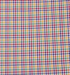 格子 色织 休闲时尚风格 现货梭织 低弹 衬衫 连衣裙 短裙 棉感 60929-36
