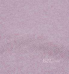 毛纺 梭织 羊毛 中人字 无弹 厚 秋冬 外套 大衣 女装 80608-12