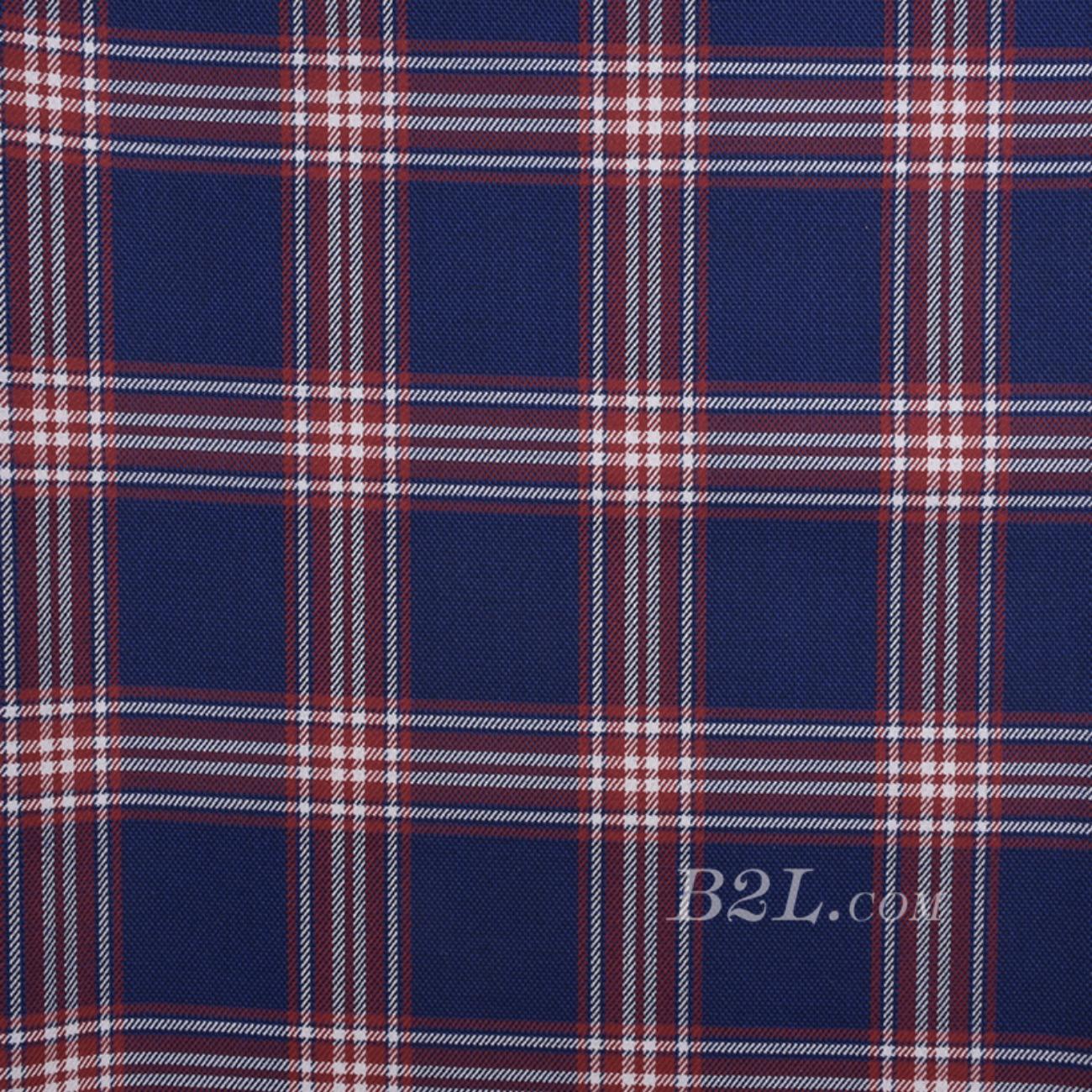格子 梭织 色织 双面 低弹 春秋冬  西装 外套 半裙 女装 80623-56