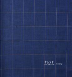 梭织染色格子面料-春秋衬衫外套休闲服工装面料91211-58