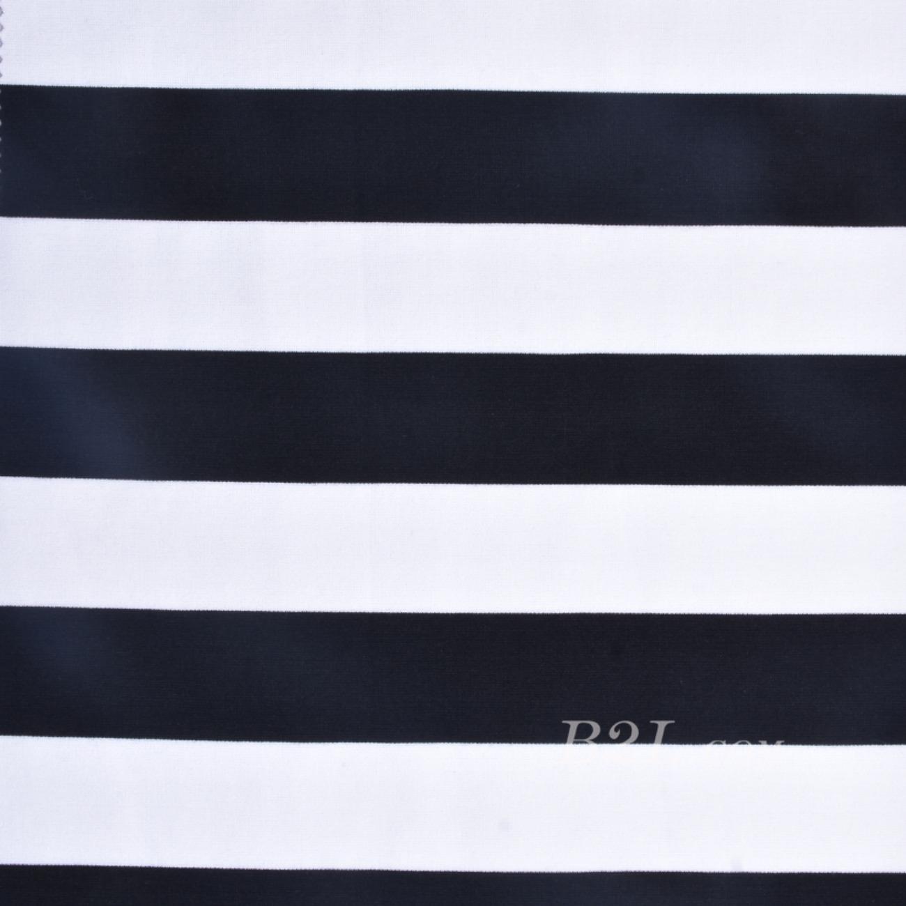 圓機緯編條紋針織橫條彈力面料—期貨棉感連衣裙T恤針織衫60311-2