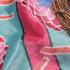花朵 涂鸦 高弹 印花 绒感 连衣裙 女装 春秋 71229-18