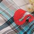 天鹅 格子 色织 梭织 绣花 微弹 连衣裙 衬衫 女装 童装 春秋 71227-45