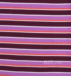 条纹 针织 横条 弹力 棉感 春秋 T恤 针织衫 连衣裙 80905-38