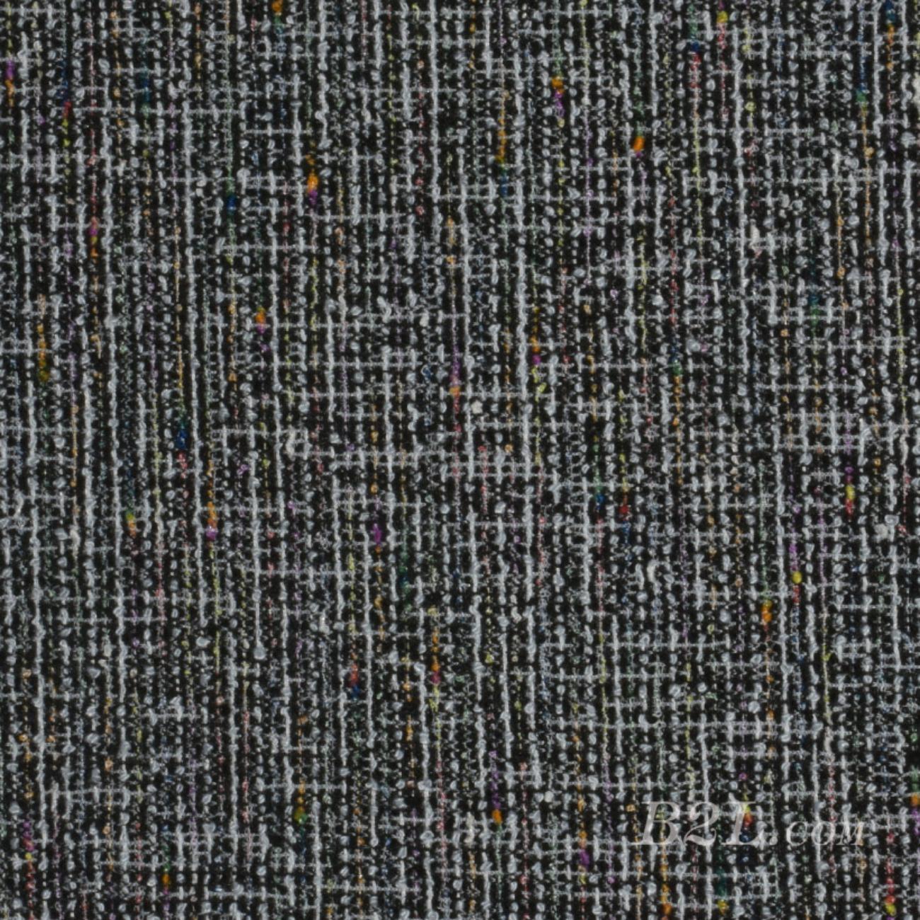 针织染色小香风面料-秋冬大衣外套面料90912-13