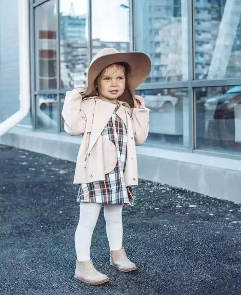 這些時尚單品,給小孩穿也有不同特點!!