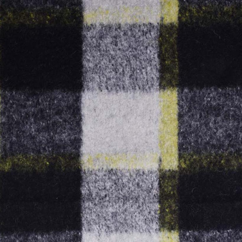 格子 呢料 柔软 羊毛 大衣 外套 女装 60803-39
