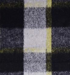格子 呢料 柔軟 羊毛 大衣 外套 女裝 60803-39