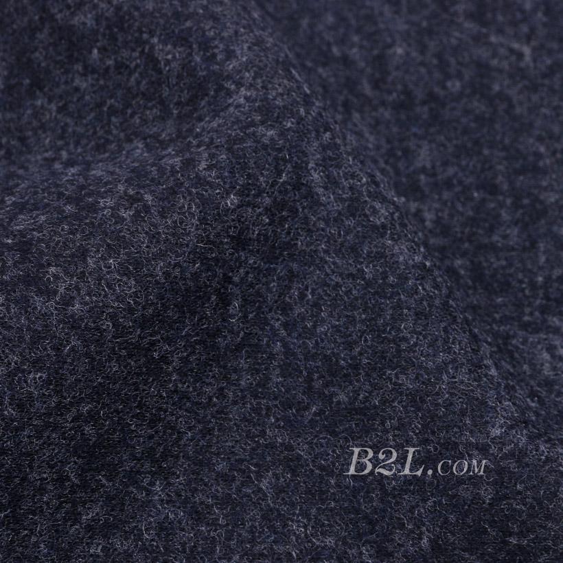 素色 针织 毛呢 厚 羊毛 大衣 低弹 外套 秋冬 男装  80311-6