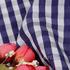 格子 色织 低弹 梭织 衬衫 上衣 女装 70622-7