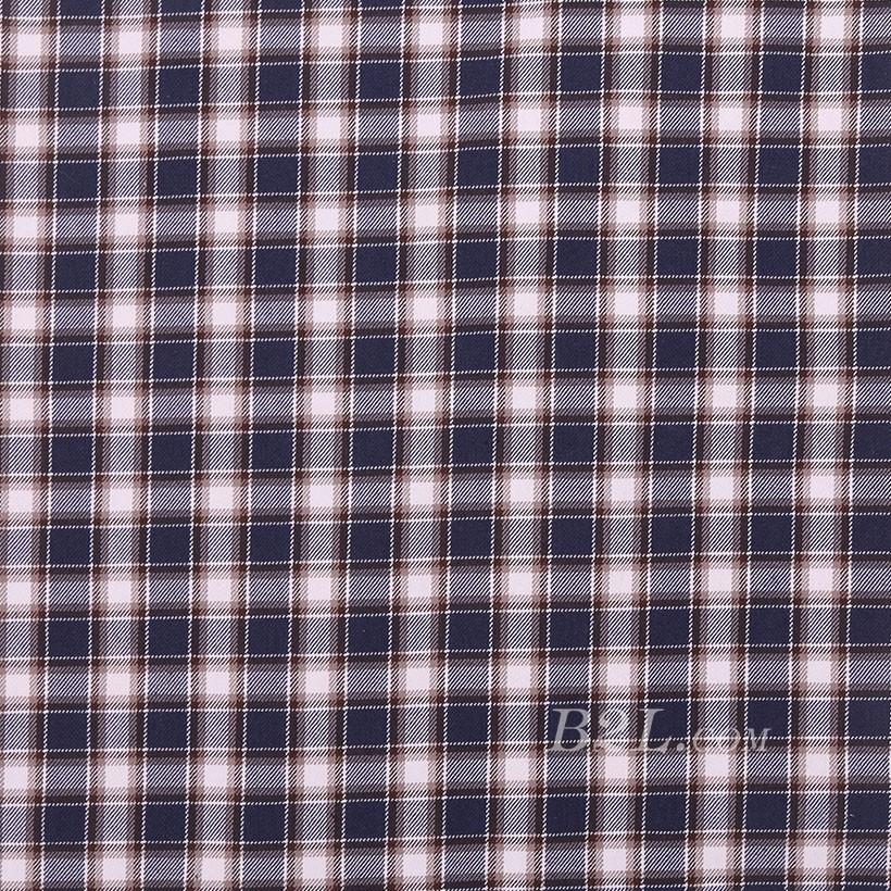 格子 棉感 色织 平纹 外套 衬衫 上衣 70622-163