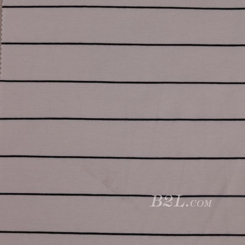 条子 横条 圆机 针织 纬编 T恤 针织衫 连衣裙 棉感 弹力 60312-89