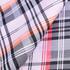 格子 全涤 梭织 色织 无弹 衬衫 外套里布 大衣里布 短裤 薄 光面 60324-17