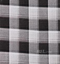 格子 全滌 針織 印花 單面 四面彈 連衣裙 半身裙 襯衫 柔軟 60330-6