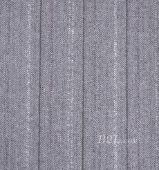 毛纺 条纹 羊毛 毛感 色织 低弹 秋冬 大衣 外套 女装 90503-1