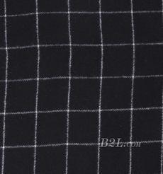 格子 呢料 柔軟 羊毛 大衣 外套 女裝 70623-8